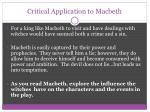 critical application to macbeth1
