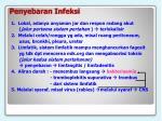 penyebaran infeksi