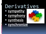 derivatives1