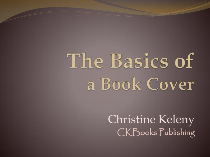 the basics of a book cover n.