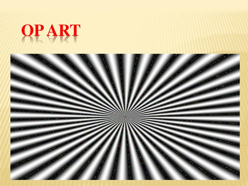 Ppt op art creating optical illusions powerpoint presentation.
