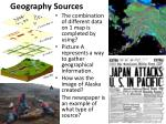 geography sources