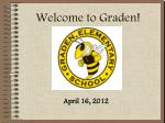 welcome to graden