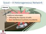 scout a heterogeneous network