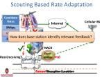 scouting based rate adaptation