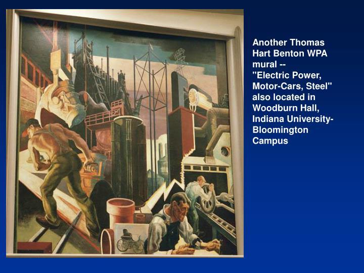 Another Thomas Hart Benton WPA mural --