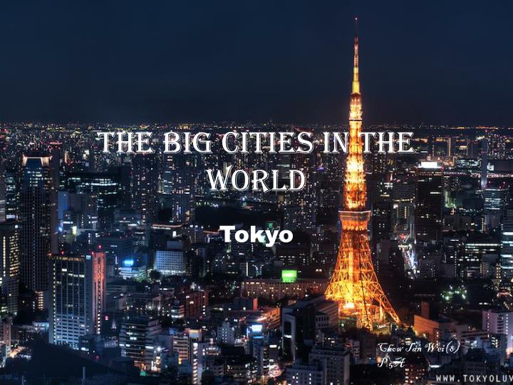 the big cities in the world n.