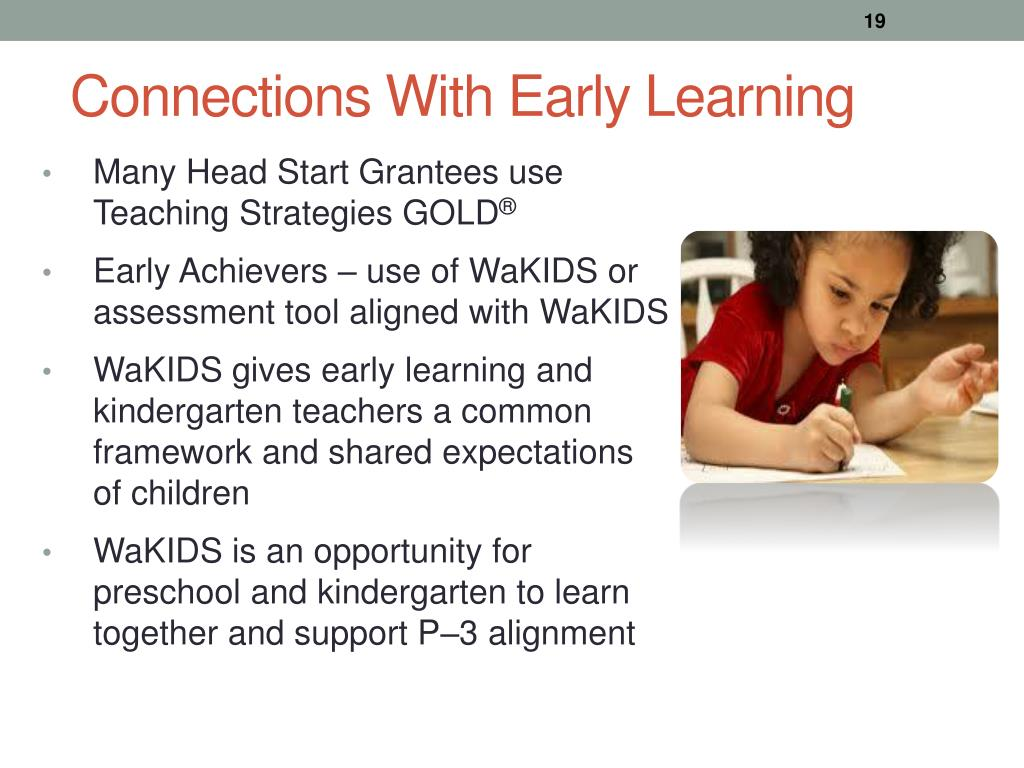 PPT - Why WaKIDS ? A Holistic Approach to Kindergarten Entry