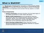 what is wakids