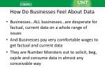 how do businesses feel about data
