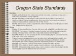 oregon state standards2
