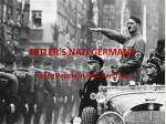 hitler s nazi germany