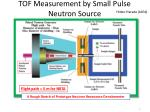 tof measurement by small pulse n eutron source