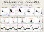 non equilibrium in ionization nei2