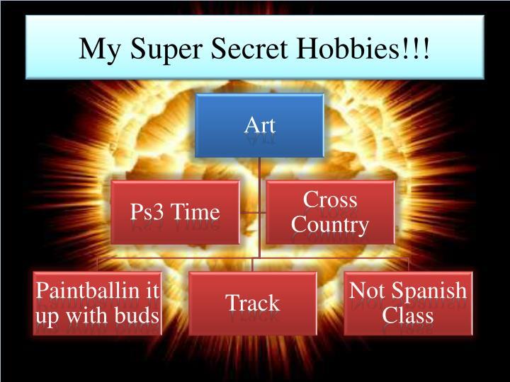 My super secret hobbies