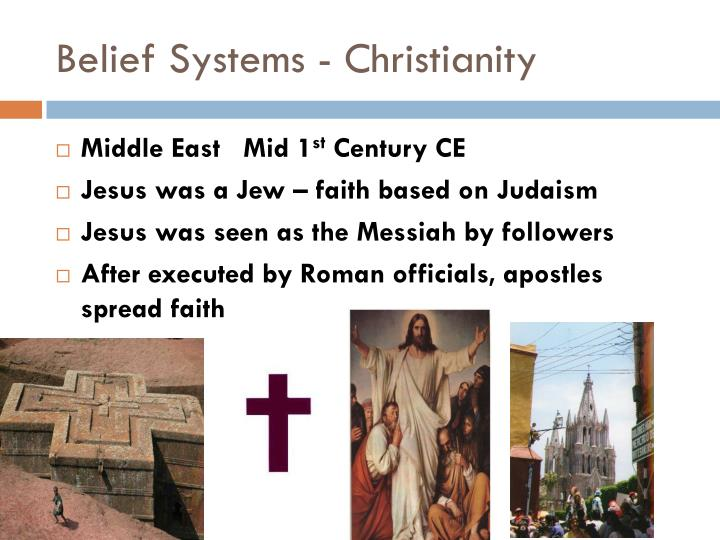 Belief Systems - Christianity