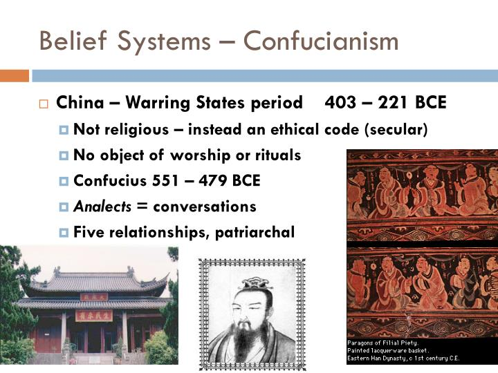 Belief Systems – Confucianism