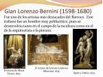 gian lorenzo bernini 1598 1680