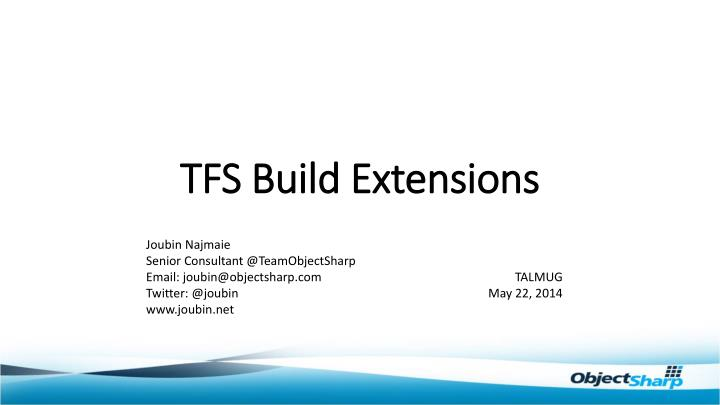 tfs build extensions n.