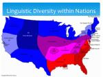 linguistic diversity within nations