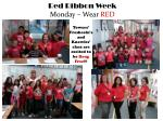red ribbon week monday wear red