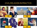 civil religion in practice