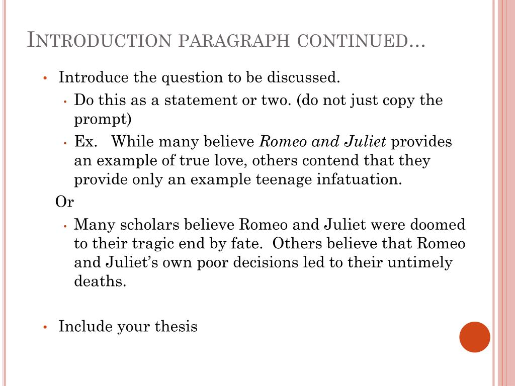 Historical questions for research papers