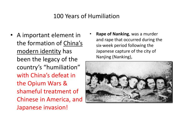 100 Years of Humiliation