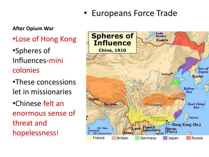 After Opium War