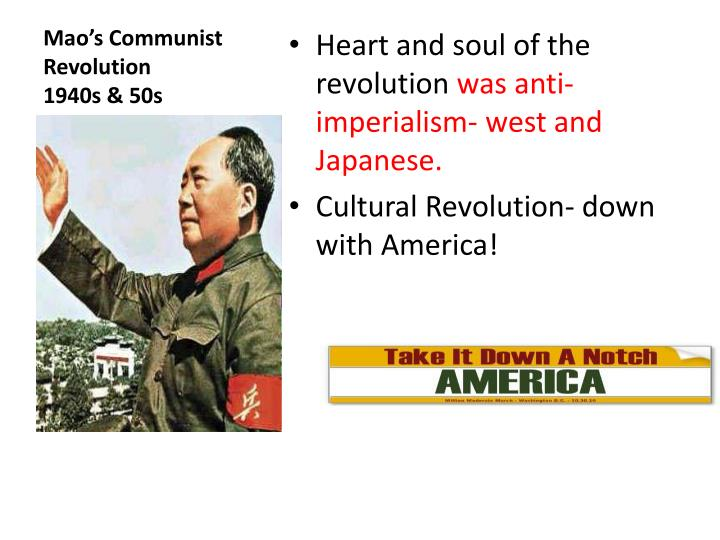 Mao's Communist Revolution