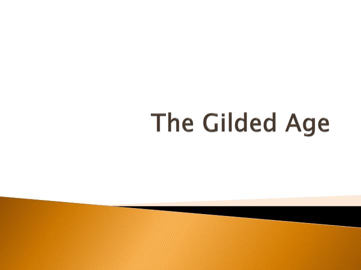 the gilded age n.