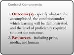 contract components1