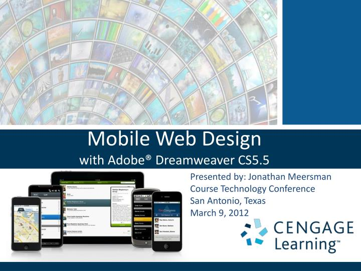 mobile web design with adobe dreamweaver cs5 5 n.