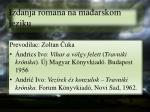 izdanja romana na ma arskom jeziku