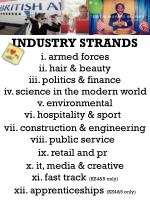 industry strands