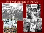 anti war protests in the us