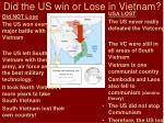did the us win or lose in vietnam