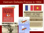 vietnam defeats france in 1954