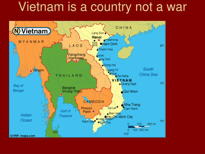 vietnam is a country not a war n.
