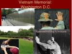 vietnam memorial washington d c