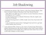 job shadowing1