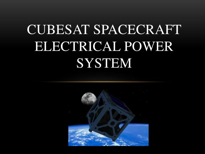 spacecraft power systems - photo #19