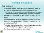 portfolio of activities1