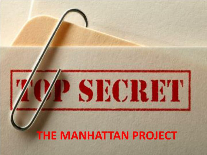 the manhattan project n.