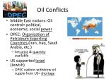 oil conflicts
