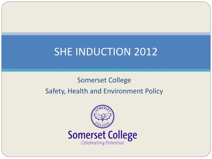 she induction 2012 n.