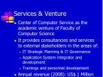 services venture