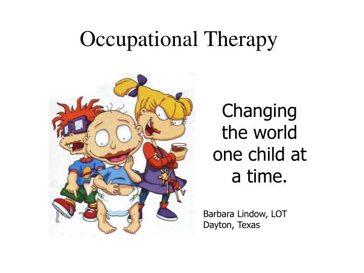 occupational therapy n.