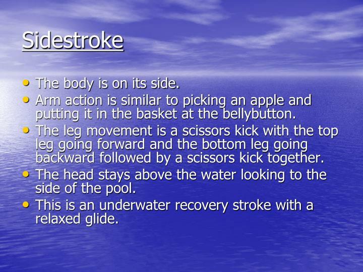 Sidestroke