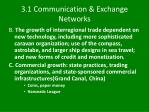 3 1 communication exchange networks1